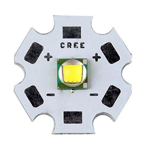 ФОТО 10PCS High Quality Cree XML T6 10W Light LED Chip Emitter Bead Mounted On 20mm PCB Flashligh