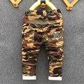 Nuevo 2017 invierno Adolescentes Jeans Para Niño Camuflaje Bebé de Niños Jeans Pantalones Niños Jean pantalones Individuales de Los Niños para el muchacho pantalones