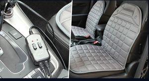 Image 3 - Almohadilla calefactora para asiento de coche, cojín calefactable para asiento de coche de 12V, para invierno
