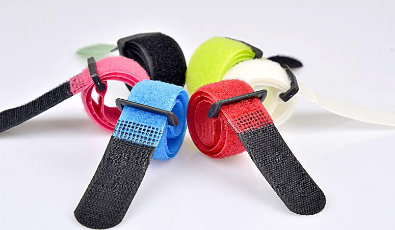 100pcs/lot Reusable Cable Ties Straps with Plastic button Strip Nylon Strap with Buckle 20*300mm Hook-in Cable Ties from Home Improvement on ...