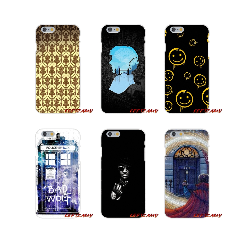 Discreet For Samsung Galaxy A5 A6s A7 A8 A9s Star J4 J6 J7 J8 Prime Plus 2018 Accessories Phone Shell Covers Sherlock Holmes Doctor Who Half-wrapped Case