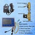 US211M-TLT дозировка машина количественный контроллер воды расходомер Сенсор считыватель штрих-кода с USN-HS21TLT 1-30L/мин 24 V дисплею