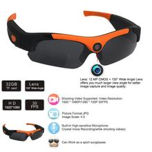 Mini Glasses Camera Wide Angles Sunglasses Camera HD 1080P DV DVR Vedio Recorder Mini Camcorder Outdoor Sport Driving Recording