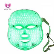 7 Colors PDT Photon LED Face Mask Skin Rejuvenation Wrinkle Removal Electric Anti-Aging Mask Therapy Beauty Machine Facial Mask