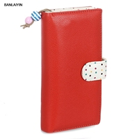 PU Purse Wallet For Women Fashion Color Red