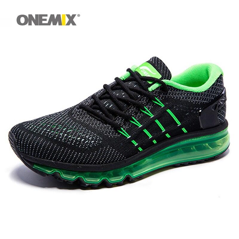 Onemix Hommes Femmes Air Chaussures de Course pour Hommes Air Marque 2017 sport en plein Air sneakers hommes athletic shoe respirant zapatos de hombre