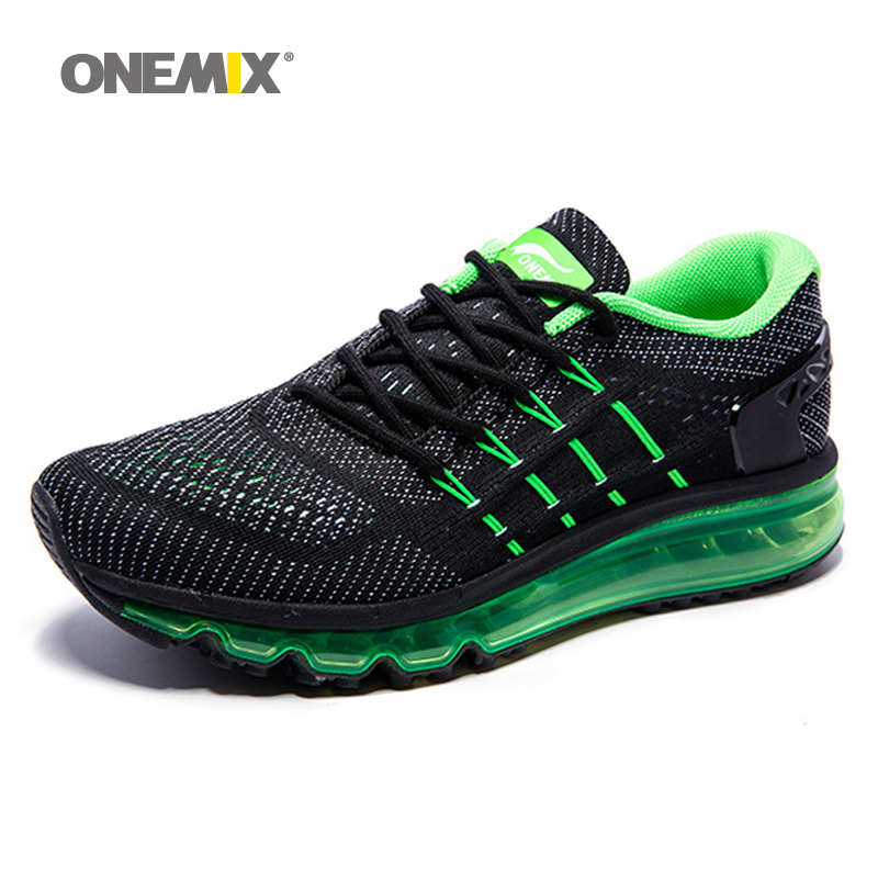 цены Onemix Men Women Air Running Shoes for Men Air Brand 2017 outdoor sport sneakers male athletic shoe breathable zapatos de hombre