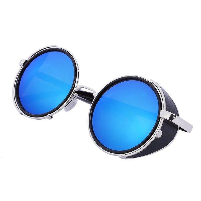 06e4b2a44 Blue Unisex Polarized Lens Sunglasses Comfortable High-nickel Alloy Frame  Hiking Eyewear Climbing Sunglasses with Popular Case