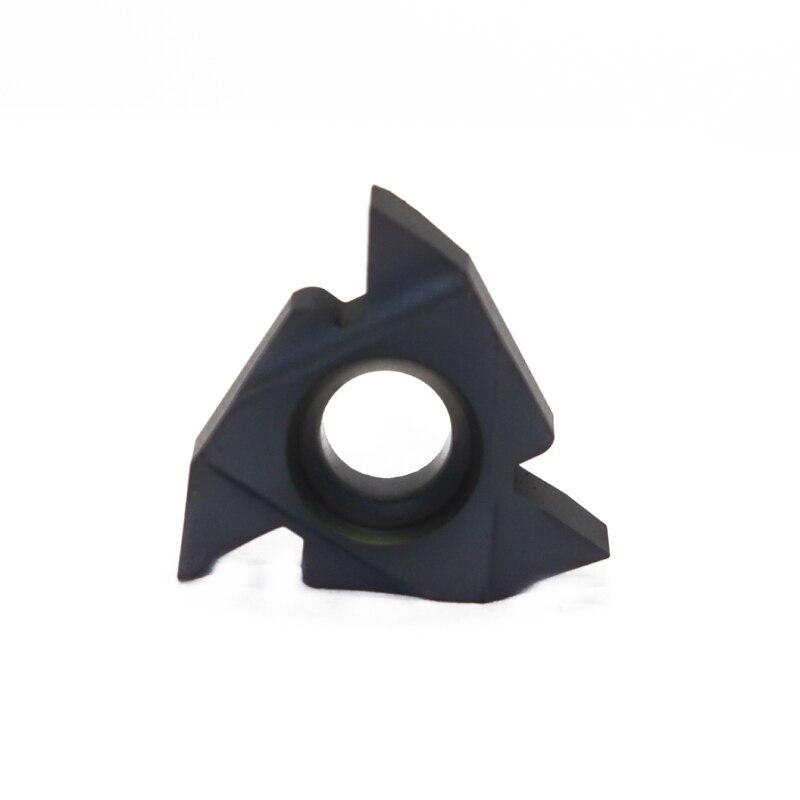 10Pcs//Set 16ER AG55 Inserts Blade Lathe CNC Carbide Thread Cutting Turning Tool