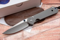JUFULE Large Sebenza 21 Folding Knife S35vn TC4 Titanium Handle Cleaver Utility Fruit Paring Kitchen Camp