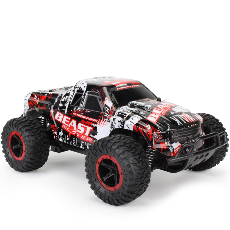 1:16 Toy RC Car Off Road Rock Crawlers Beast 2.4G 25km / h RC Racing - დისტანციური მართვის სათამაშოები - ფოტო 4