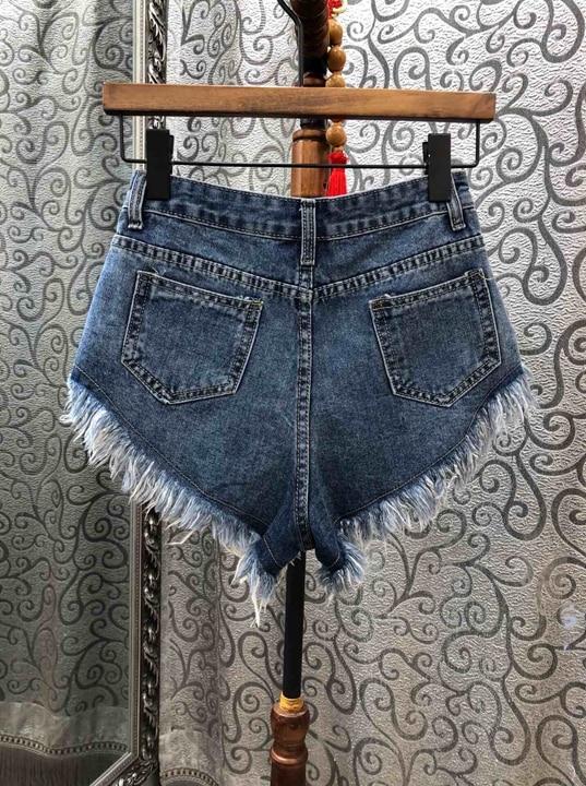 0316 Jeans Loisirs Pantalons 2019 Pour Les Cheveux De Aiguille Nouvelle Bleu Ruban Et D'été Femme Printemps Shorts 6Ow4Z7qx