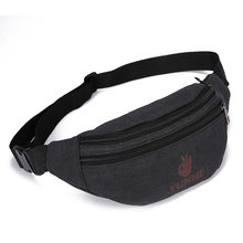 d3c9c29381b6 Casual Canvas Waist Pack Hot-selling Multifunctional Organizer Bag for Men  Leisure Waist Bags Wholesale