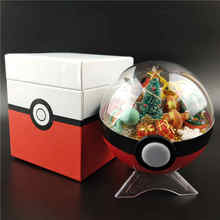 Anime Pokeball XY Figures Pikachu Monster Bulbasaur handcraft DIY Model Toys Brinquedos Collection Christmas Toy