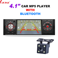 NEW 4.1'' Bluetooth Car MP4 MP5 Player 1080P HD Touch Screen Support Rear View Camera Handsfree Car Audio Video FM USB SD AU