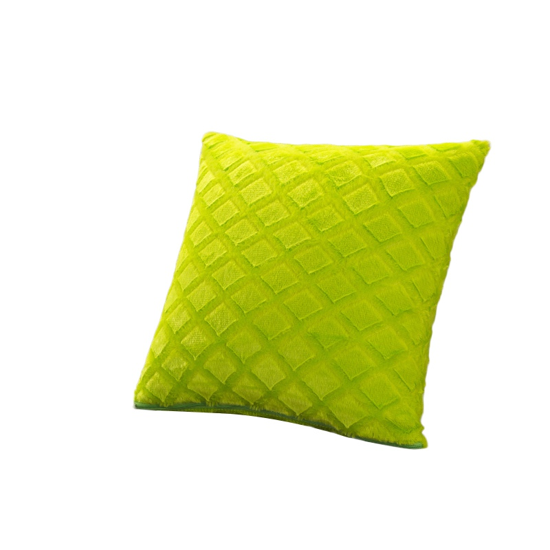 43cmx43cm Plush Pillowcase Comfortable Throw Wedding Cushion Pillow Case  Cover Shape Rhombus Home Hot
