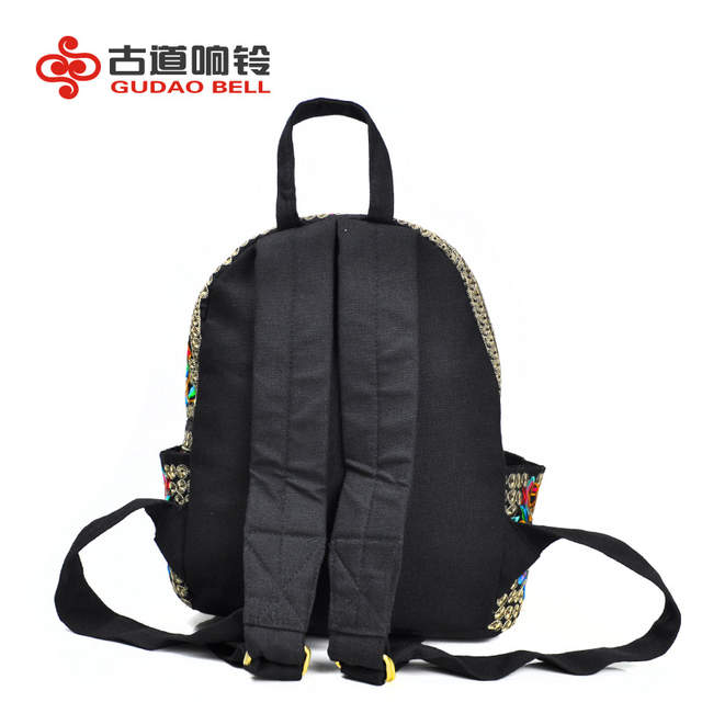 a6e7b202 China 's embroidery bag leisure women' s shoulder bag tourism students  embroidered backpack manufacturers wholesale famous brand-in Backpacks from  Luggage ...