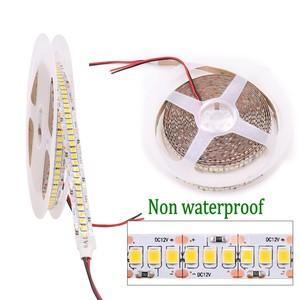 Image 2 - Tira de luces LED de 5M, 2835 SMD DC 12V 240LEDs/M 300/600/1200 Leds, impermeable IP65, Flexible, cinta de luces LED, blanco frío y cálido