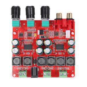 Image 4 - TPA3118 2.1 チャンネルデジタルステレオサブウーファーパワーアンプボード 2*30 ワット + 60 ワット DC12V 26V スピーカー