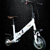 Lion Battery 10 Inch Electric Scooter Foldable E Bike 350W 25Km H With Scooters