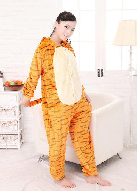 Tiger Onesies Adults Tigger Flannel Pajamas Animal Costumes Adult Kigurumi Cartoon Animal Sleepwear Cosplay Women and Men Pyjama  sc 1 st  Aliexpress & Online Shop Tiger Onesies Adults Tigger Flannel Pajamas Animal ...