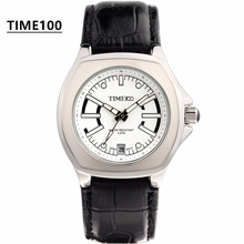 Elegant Intellectual Ladies' Brand Watch Black Leather Strap Material Original Quartz Watch Japanese Movement Women Watch W022