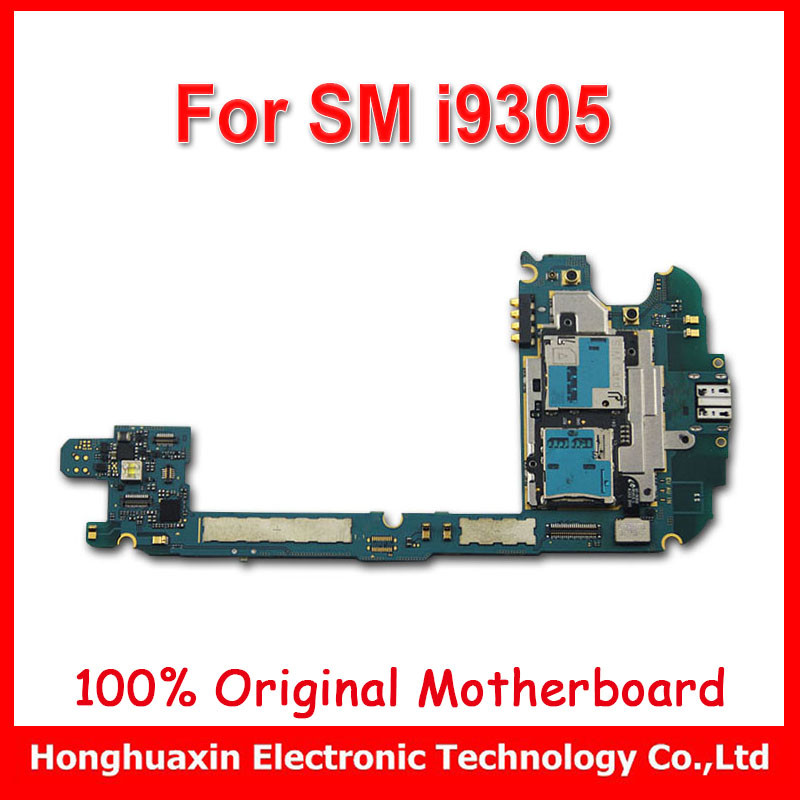 EU version 16GB unlocked motherboard for samsung S3 I9305 4G LTE original mainboard system board with chips Logic circuit board