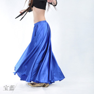 Image 3 - Wholesale Satin Belly Dance Skirt for Women Cheap Belly Dancing Costume Skirts on Sale Women Dance Dress LD010