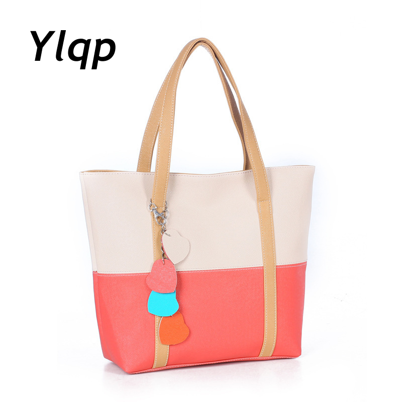 2017 New fashion Women summer bags vintage female handbag women Shoulder Bag leather handbags double colors bag Free Shipping yuanyu 2018 new hot free shipping python skin women handbag single shoulder bag inclined female bag serpentine women bag