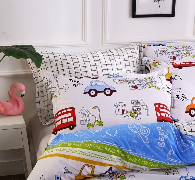 Vehicles Printed Bed Linen Set