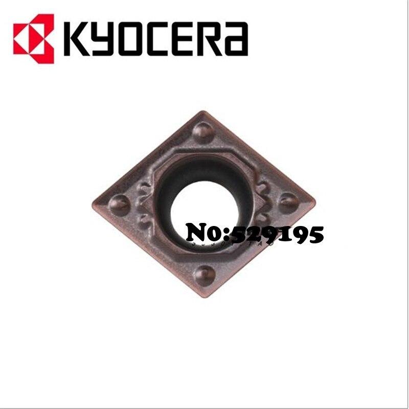 Kyocera CCMT09T302-HQ CCMT09T304-HQ CCMT09T308-HQ PR1125 токарный станок CCMT 09T302 09T304 для Нержавеющая сталь ЧПУ твердосплавный вставки