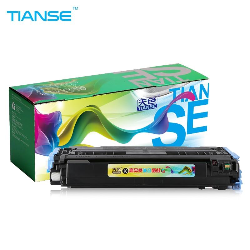 TIANSE עבור HP Q6000A Q6001 Q6002 Q6003 מחסנית טונר עבור HP Color LaserJet CM1015 CM1017 1600 2600n 2605 2605dtn 2605dn Laser
