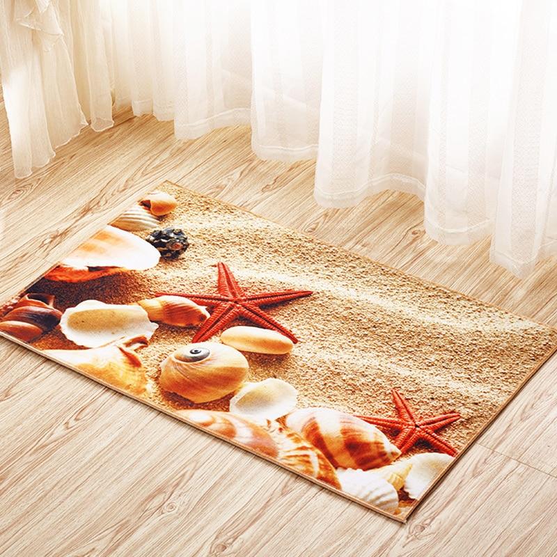 Zeegle غرفة المعيشة 3d منقوشة الطابق - منسوجات منزلية
