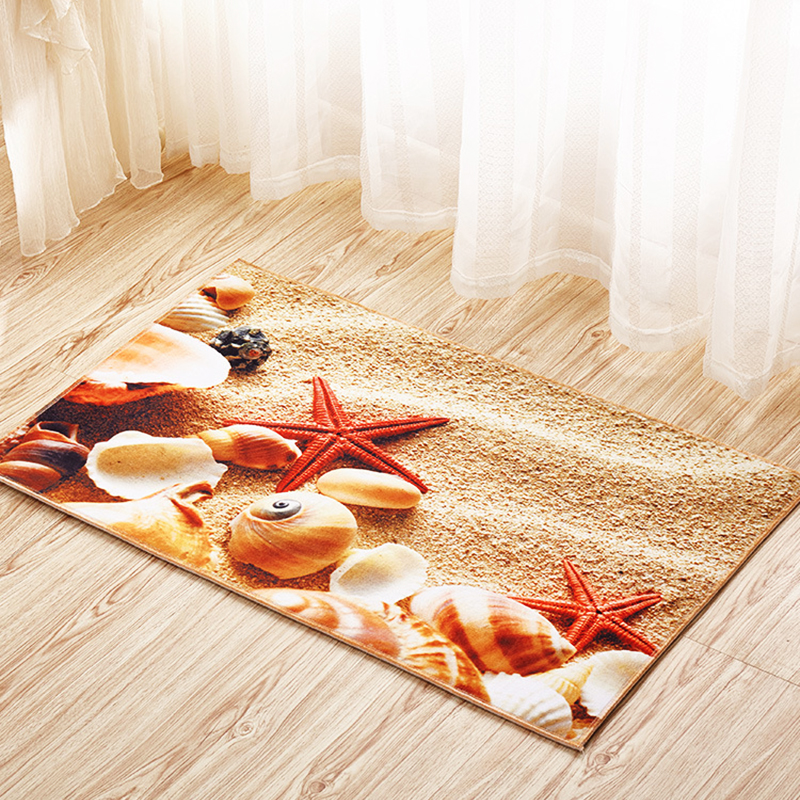 Zeegle סלון חדר 3D מובלט קומה אזור שטיחים חדר שינה אנטי סליפ חדר אמבטיה מרוצפות קומה סופג חדר ילדים מיטה שטיחים