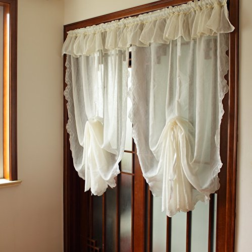 Popular White Country Curtains Buy Cheap White Country