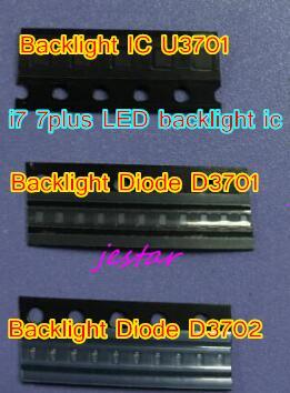 50sets 150pcs Backlight IC Chip U3701 D3701 D3702 For iphone 7 7plus 7 plus Dim no