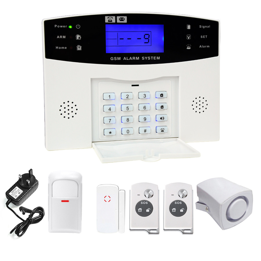 YA-500-GSM House Intelligent Burglar Alarm Security Wireless WIFI Infrared Walkie Lighting GMS Alarm System Home Security