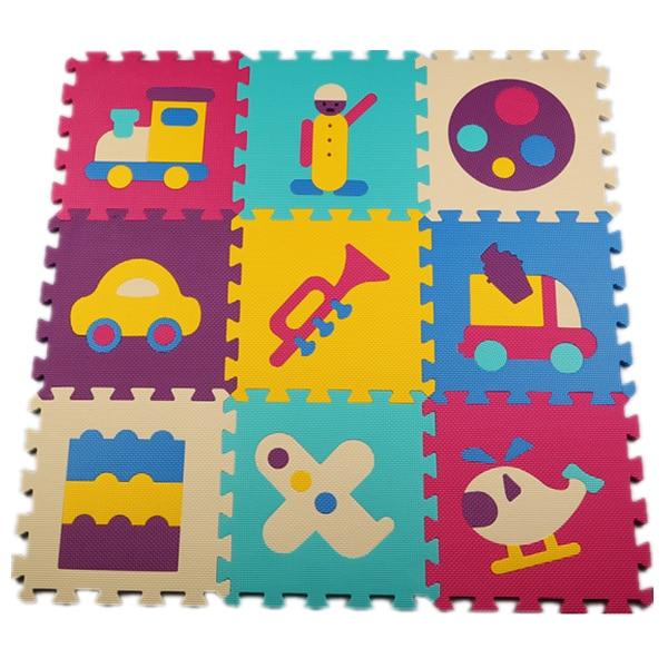 baby interlocking puzzle play mat kids games eva mat foam carpet rug playmat for kids floor. Black Bedroom Furniture Sets. Home Design Ideas