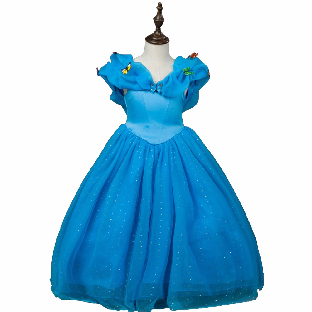 2017 Girl Dresses Princess Children Clothing Halloween Cosplay Costume Kid's  Halloween Wedding Party Dress Baby Girls Clothes 2017 new girls dresses for party and wedding baby girl princess dress costume vestido children clothing black white 2t 3t 4t 5t