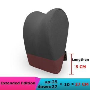Image 3 - 1 個車のヘッドレスト首枕のための座椅子自動低反発綿メッシュクッション生地カバーソフトヘッドレストトラベルサポート