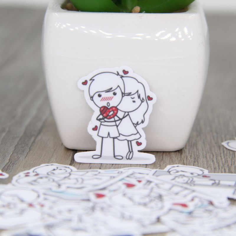 40 cái Vài nhân vật expressi cho điện thoại xe Nhãn Trang Trí Văn Phòng Phẩm Dán Scrapbooking DIY Album Nhật Ký đồ chơi Sticker