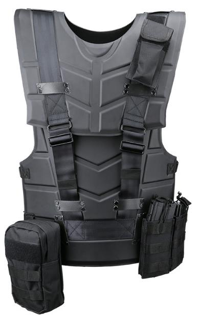 Film same tactical vest, multi-functional tactical armor, sports outdoo