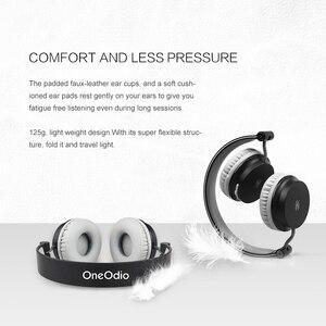 Image 5 - Oneodio Auriculares deportivos, inalámbricos por Bluetooth para teléfono móvil, auriculares plegables con micrófono para Xiaomi