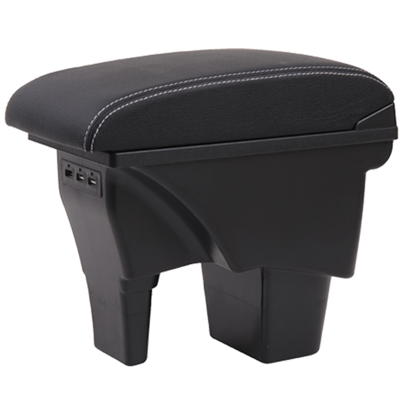 Image 5 - for Suzuki Vitara armrest box universal car center console caja  modification accessories double raised with USB-in Armrests from Automobiles & Motorcycles