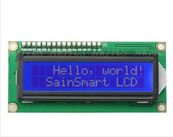 5pcs/Lot Character 1602 LCD Module Display 5V Serial IIC/I2C/TWI For Arduino UNO R3 MEGA2560 Nano Free Shipping & Drop Shipping