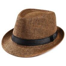 Feitong Hot Unisex mujeres hombres moda verano Casual moda Playa Sol paja  panamá Jazz sombrero vaquero b3601486e8a