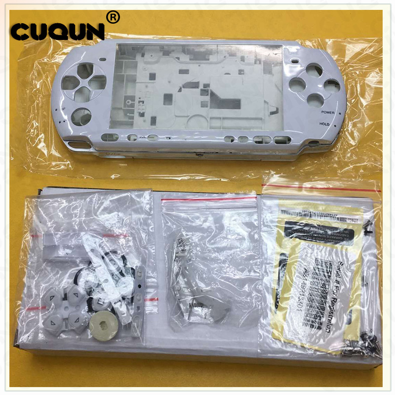 5 Color Shell Case For Sony PSP3000 PSP 3000 Shell Old Version Game Console full housing cover case with buttons kit screwdriver
