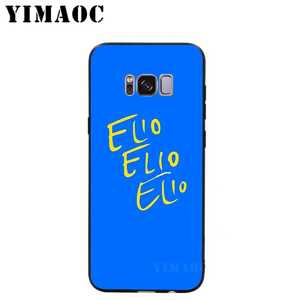 YIMAOC Call Me by Your Name Boy Soft Silicone Case for Samsung Galaxy S9 S8  A6 Plus 2018 S7 S6 Edge A5 A3 2017 2016 Note 8 9
