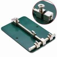 1pc support de carte PCB réglable en métal 12cm x 8cm pour outil de réparation de téléphone portable