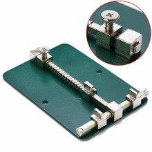 Support de PCB en métal ajustable 12cm x 8cm pour outil de réparation des téléphones portables 1 pièce